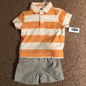 Shirt & short set for baby